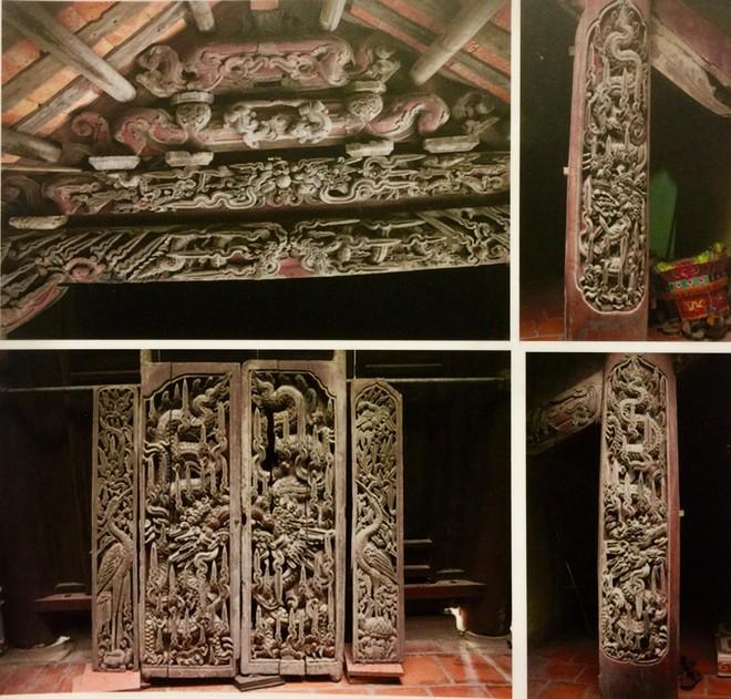 Bộ cánh cửa ở chùa Cổ Chất- Nam Định