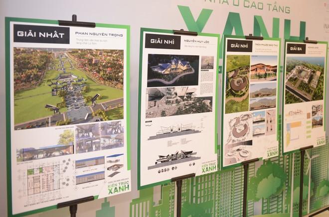 Các đề án đoạt giải cao của cuộc thi thiết kế kiến trúc xanh