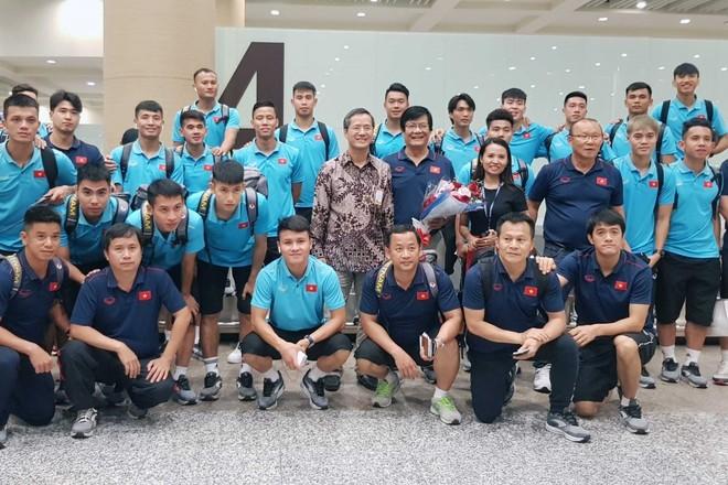 ĐT Việt Nam tại sân bay Ngurah Rai, Bali