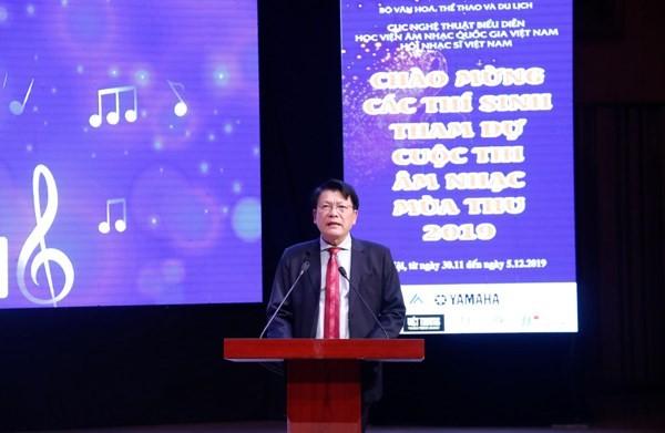 NSND Nguyễn Quang Vinh, Quyền Cục trưởng Cục NTBD phát biểu bế mạc cuộc thi
