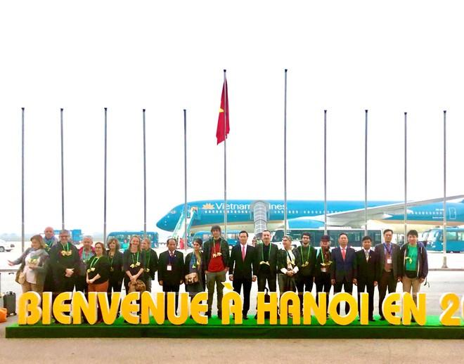 2 du khách người Pháp xông đất du lịch Hà Nội 2020