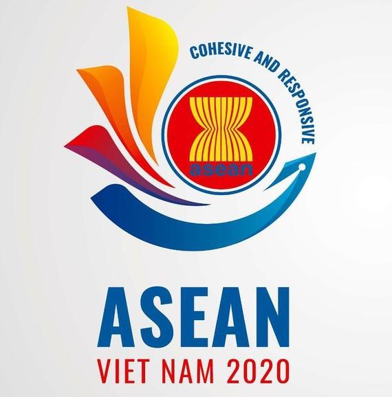 Hình ảnh hoa sen cách điệu được chọn làm logo Năm ASEAN 2020