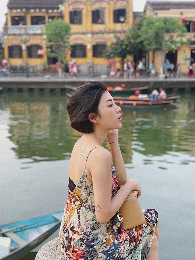Đại diện Ban tổ chức cuộc thi –chị Dương Diễm My