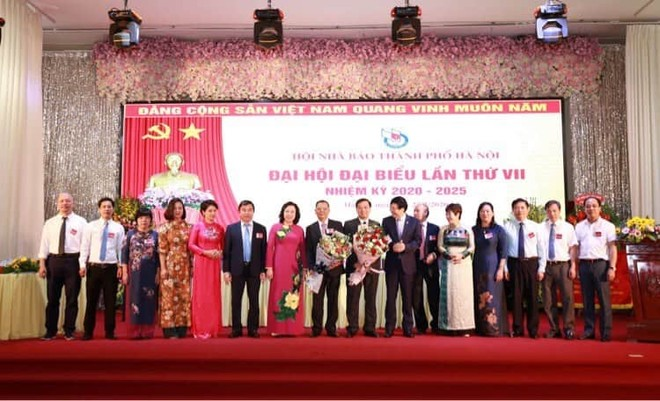 Ban Chấp hành Hội Nhà báo thành phố Hà Nội nhiệm kỳ 2020-2025 ra mắt đại hội