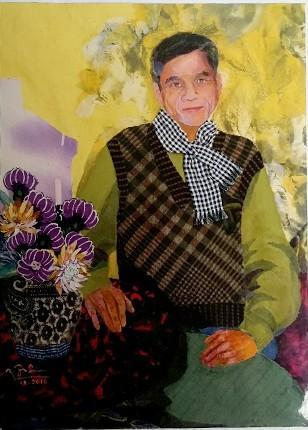 Nữ họa sĩ biến vải vụn thành tác phẩm nghệ thuật ảnh 15