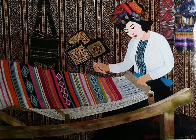 Nữ họa sĩ biến vải vụn thành tác phẩm nghệ thuật ảnh 14