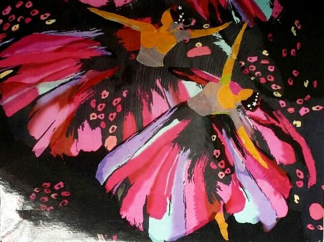 Nữ họa sĩ biến vải vụn thành tác phẩm nghệ thuật ảnh 5