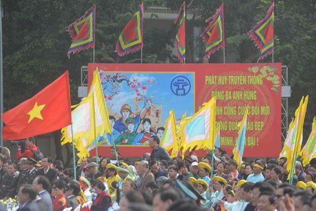 Tưng bừng lễ kỷ niệm 227 năm chiến thắng Ngọc Hồi - Đống Đa ảnh 3