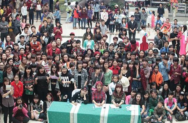Du khách sẽ có dịp trải nghiệm về văn hóa Hàn Quốc tại lễ hội.
