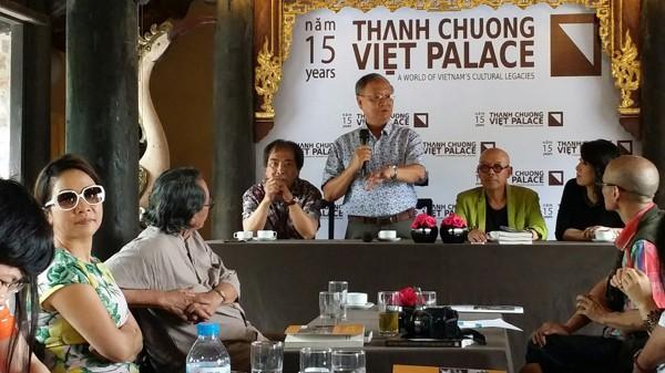 Buổi gặp gỡ báo chí nhân kỷ niệm 15 năm Việt phủ Thành Chương diễn ra vào sáng 4-5