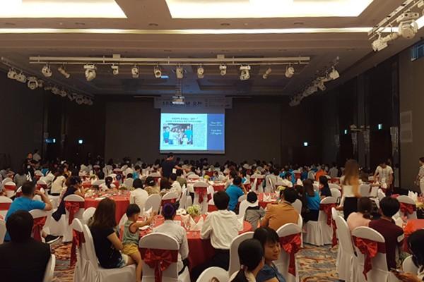 Lễ kỷ niệm có sự góp mặt của 27 gia đình Việt - Hàn về thăm quê ngoại