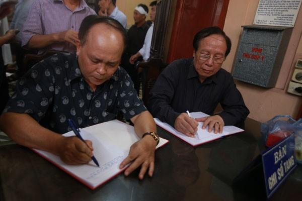 NSND Lê Tiến Thọ, Chủ tịch Hội Nghệ sỹ Sân khấu Việt Nam lưu dòng cảm tưởng