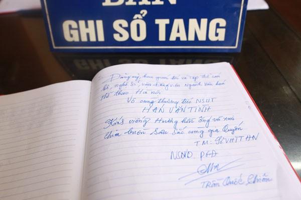 Lời cảm tưởng của Phó Giám đốc Sở VH-TT Hà Nội Trần Quốc Chiêm