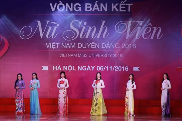 """10 thí sinh miền Bắc vào vòng Chung kết """"Nữ sinh viên Việt Nam duyên dáng 2016"""" ảnh 7"""