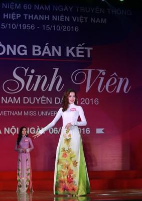 """10 thí sinh miền Bắc vào vòng Chung kết """"Nữ sinh viên Việt Nam duyên dáng 2016"""" ảnh 5"""