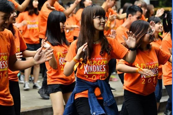 """7000 người sẽ """"Nhảy vì sự tử tế"""""""