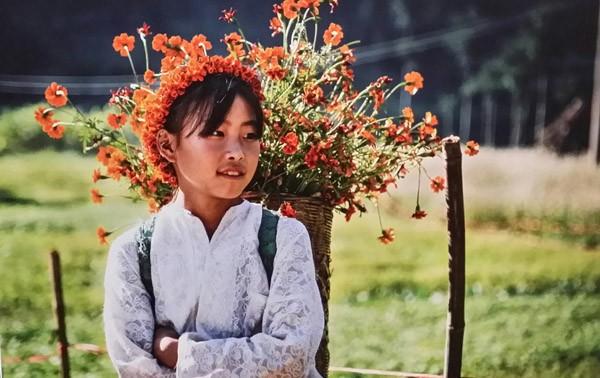 """Tác phẩm """"Em bé Hà Giang"""" của Phạm Văn Hạnh"""