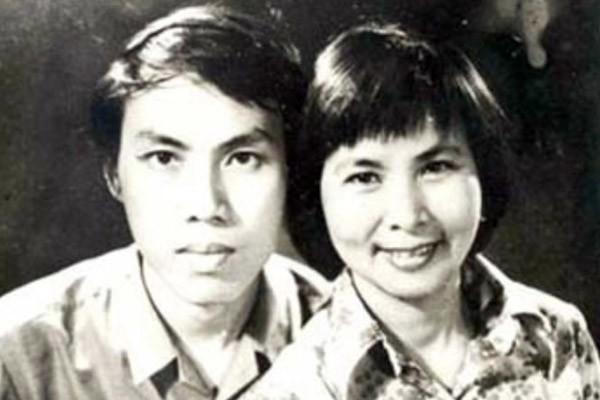 Cố nhà thơ Xuân Quỳnh và Lưu Quang Vũ.