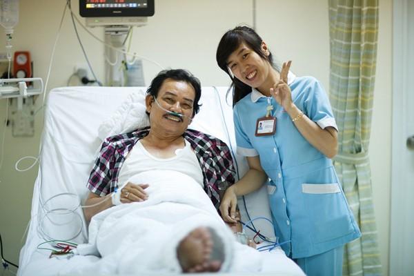 Diễn viên Mã Trung hồi phục
