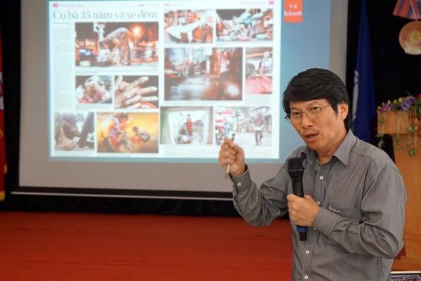 Ông Vũ Quốc Khánh, Chủ tịch Hội Nghệ sỹ Nhiếp ảnh Việt Nam