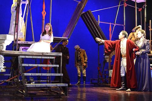 """Vở kịch """"Romeo và Juliet"""" sẽ được biểu diễn nhân kỷ niệm 65 năm thành lập Nhà hát Kịch Việt Nam"""