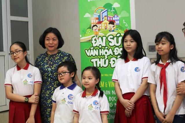 Đại sứ Văn hóa Đọc Thủ đô bắt đầu lộ diện