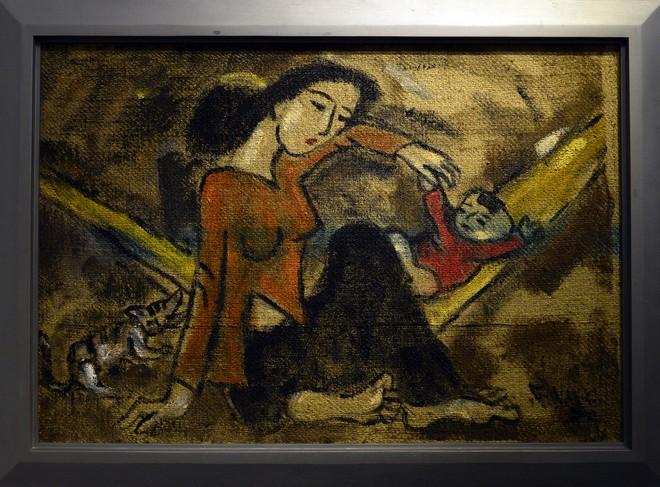 """""""Van Gogh của Việt Nam"""" cho ra mắt loạt tranh vẽ người đẹp ảnh 2"""