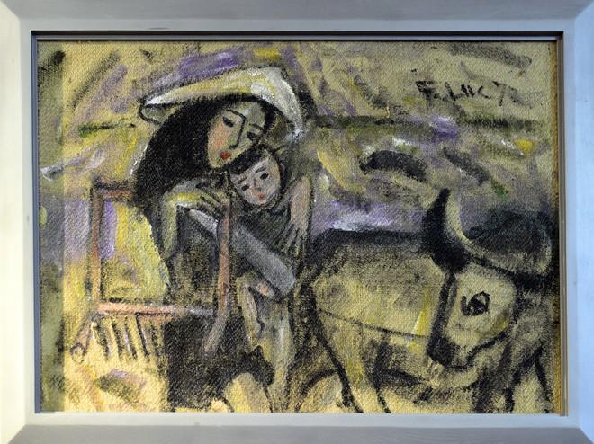 """""""Van Gogh của Việt Nam"""" cho ra mắt loạt tranh vẽ người đẹp ảnh 5"""