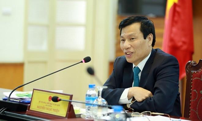 Bộ trưởng Bộ VH-TT&DL Nguyễn Ngọc Thiện