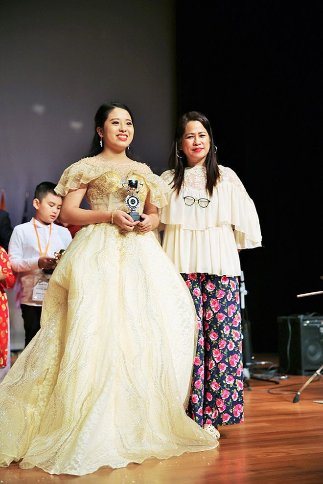 Yến Nhi giành HCB cuộc thi