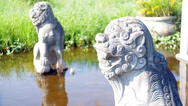 Linh vật nghê xuất hiện từ lâu trong đời sống của người Việt