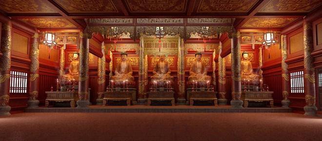 """Ngôi chùa """"ảo"""" được thiết kế đẹp mắt và không khác với ngôi chùa thật"""