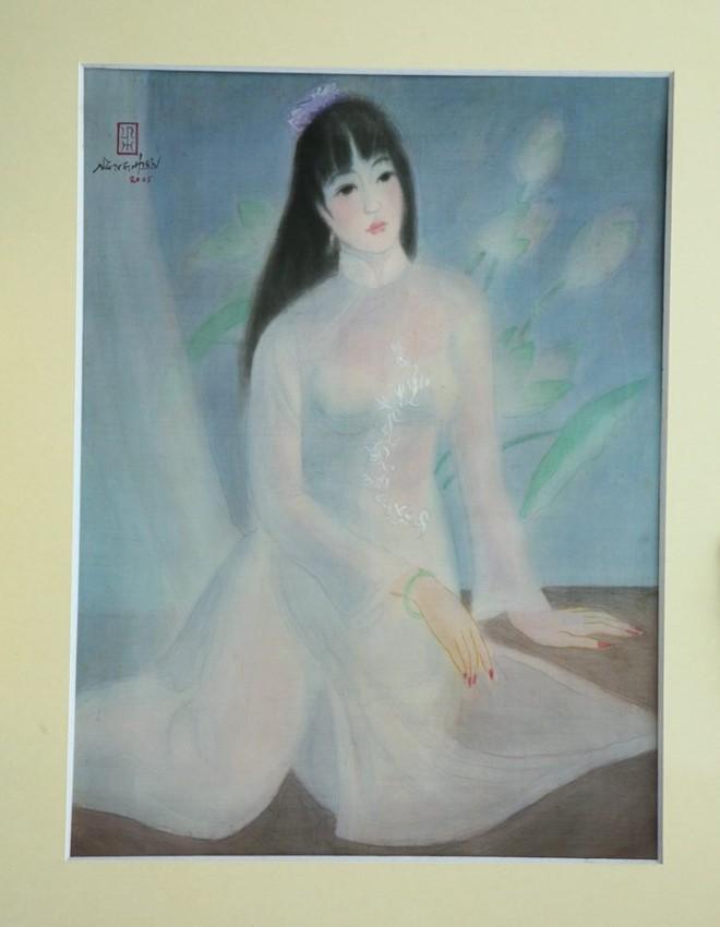 Tác phẩm của cố họa sỹ Lê Năng Hiển