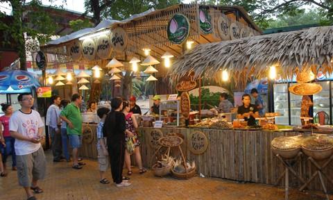 26 gian hàng ẩm thực sẽ bày bán các món ăn nổi tiếng Hà thành