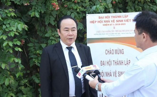 Ông Lê Văn Hiệp, Chủ tịch Hiệp hội Nhà Vệ sinh Việt Nam