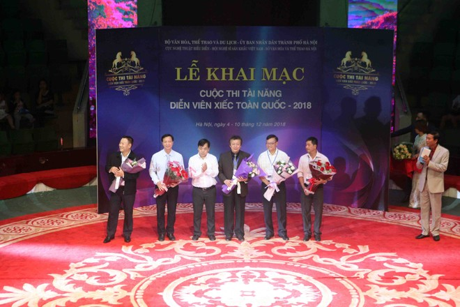 Lễ khai mạc ấn tượng của cuộc thi Tài năng Diễn viên Xiếc toàn quốc 2018