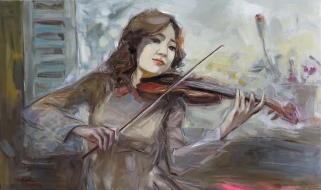 Tác phẩm của họa sỹ Lâm Đức Mạnh