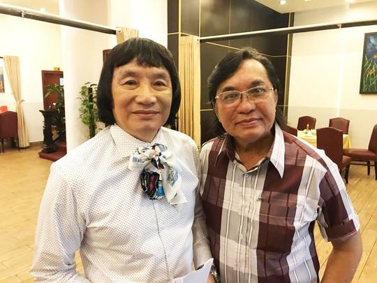 NSƯT Minh Vương và NSƯT Thanh Tuấn