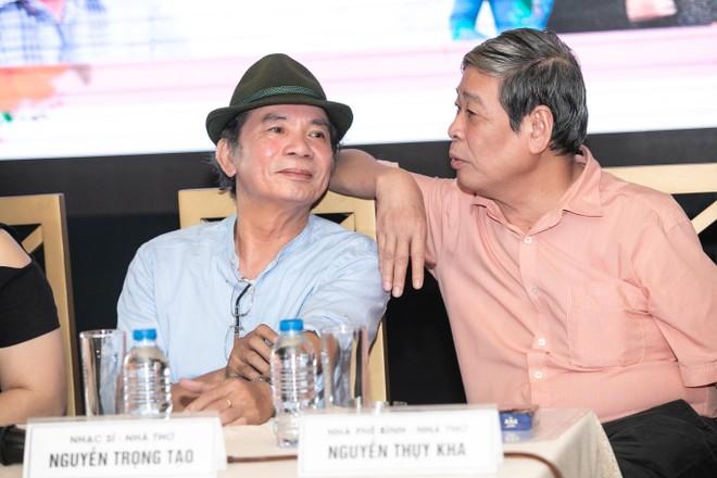 Nhạc sỹ Nguyễn Trọng Tạo và nhạc sỹ Nguyễn Thụy Kha
