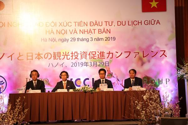 Hà Nội giới thiệu tổng quan về hợp tác đầu tư, du lịch tới các đối tác Nhật Bản