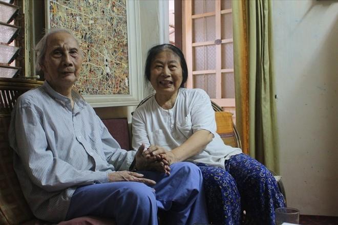 Nhà điêu khắc Lê Công Thành và vợ-họa sỹ Kim Thái