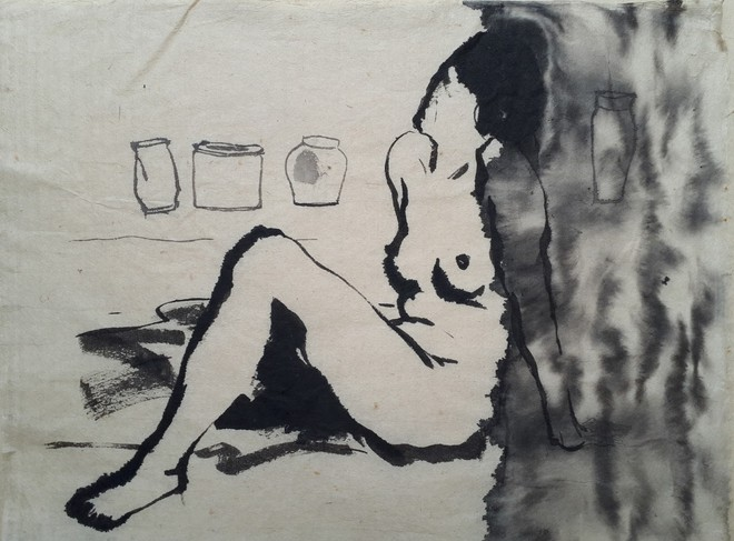 Tác phẩm của họa sỹ Quốc Thắng
