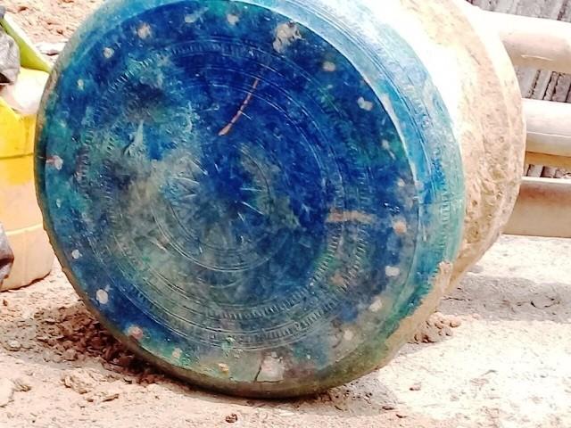 Phát hiện trống đồng Đông Sơn nghìn năm tuổi tại Lào Cai