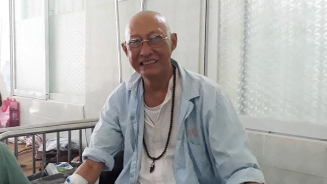 Nghệ sỹ Lê Bình lạc quan trong quá trình điều trị bệnh