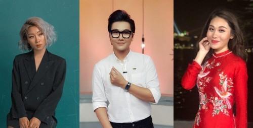 3 thành viên chính trong ê-kíp: Nhiếp ảnh gia Dạ Miêu, MC Công Tố và MC Minh Trang.