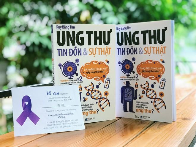 """Đan Lê đồng hành cùng chiến dịch """"10 vạn lời nhắn gửi nâng cao nhận thức về bệnh ung thư"""""""