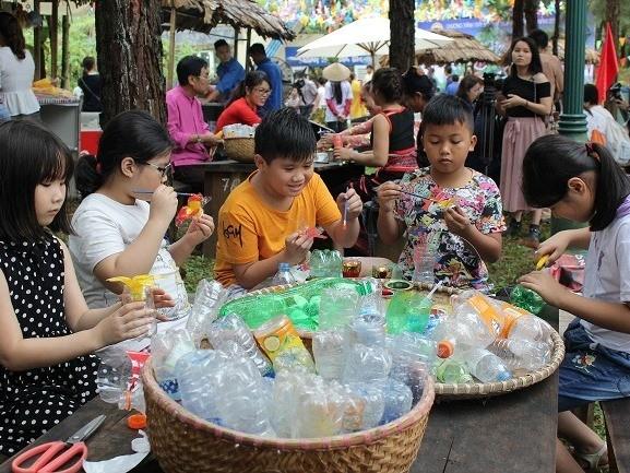 Các em nhỏ được tham gia nhiều hoạt động bổ ích trong chương trình