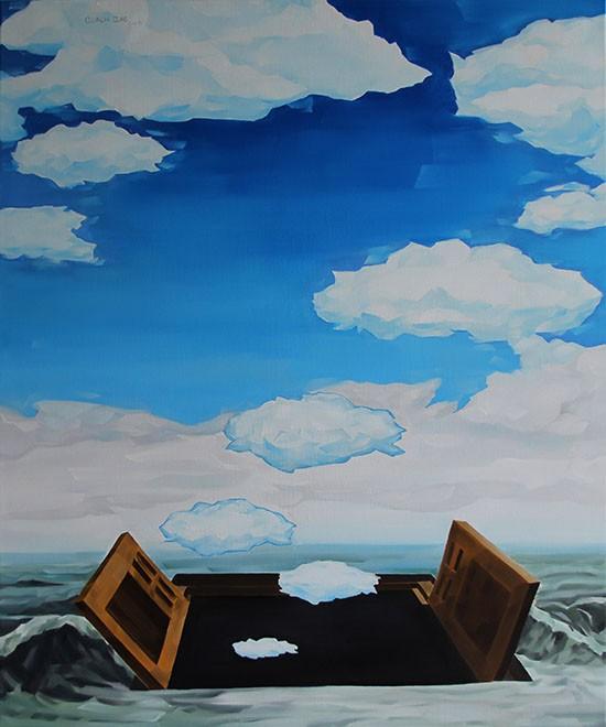 """Hình ảnh bầu trời xuất hiện tại triển lãm đầu tay """"Bầu trời danh tiếng"""""""