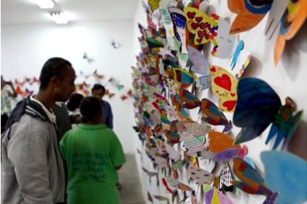 """Triển lãm """"Hóa thành bươm bướm"""", AFA Gallery, Addis Ababa, Ethiopia, châu Phi, 2017"""