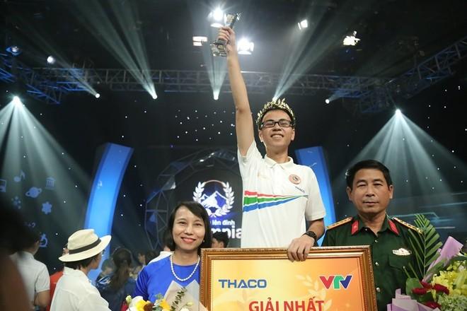 Trần Thế Trung giành vòng nguyệt quế Đường lên đỉnh Olympia lần thứ 19